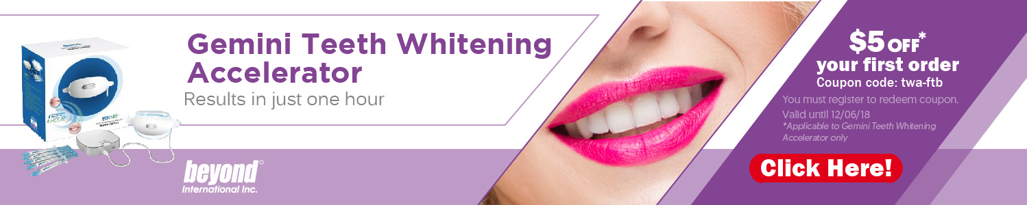 Beyond Gemini Teeth Whitening Accelerator - OralPrecision.com