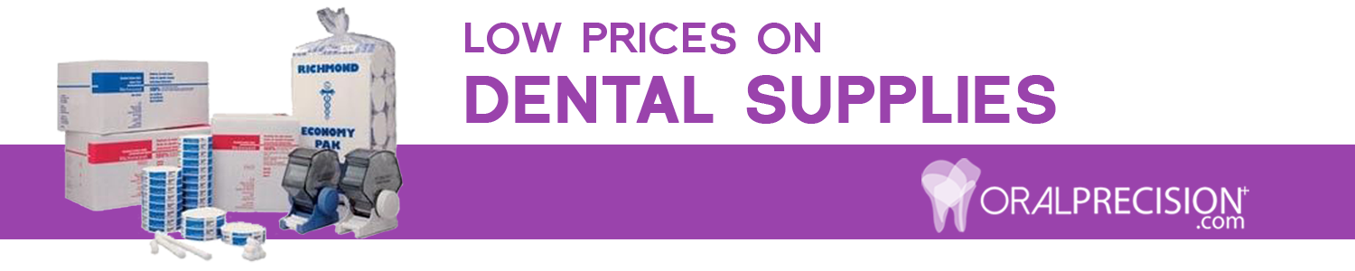 Low prices on dental supplies